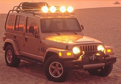 1997 Jeep Dakar