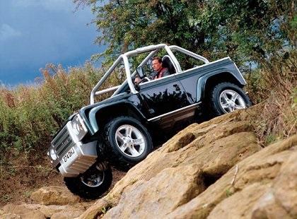 1999 Land Rover Project SVX