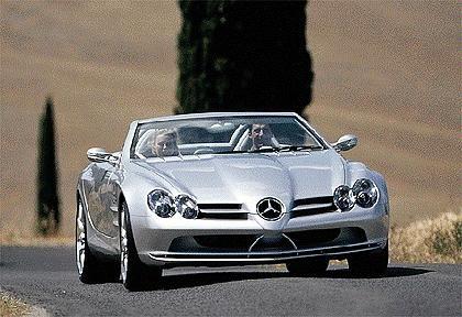 1999 Mercedes-Benz Vision SLR Roadster