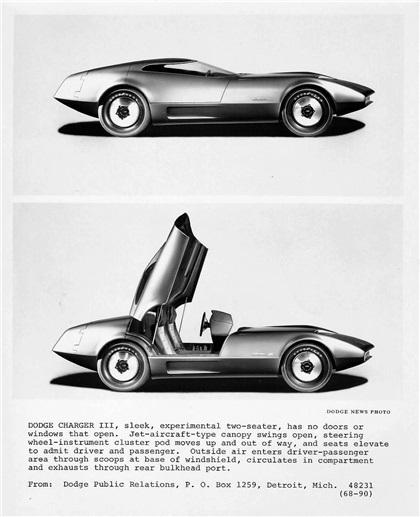 Dodge Charger III, 1968