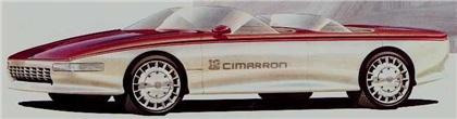 Cadillac Cimarron, 1985 - Design Sketch
