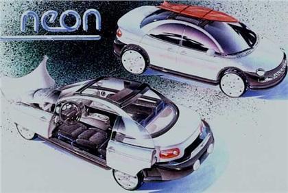 1991 Dodge Neon Concepts #0: 1991 Dodge Neon design sketch 01 A2810E63FDCA929C38F6236