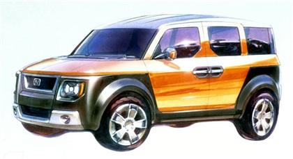 2001 Honda Model X