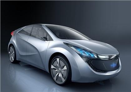 2009 Hyundai HND-4 Blue-Will
