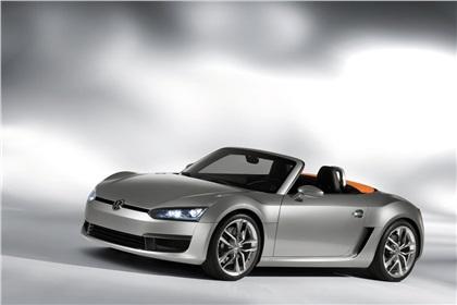 2009 Volkswagen Concept BlueSport