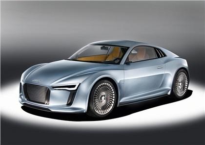 2010 Audi Detroit showcar e-tron