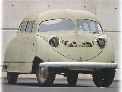 Stout Scarab (1935): Первый минивэн в мире