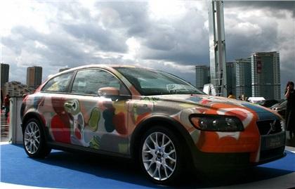 Volvo: автомобиль-картина