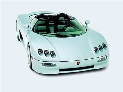 Koenigsegg CC V8 S (2002): Неистовый швед