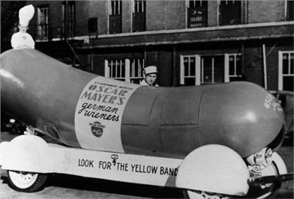 Wienermobile: Хот-дог на колесах