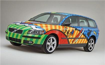 Volvo V50 Special Edition Romero Britto (2004): Все о приключениях!