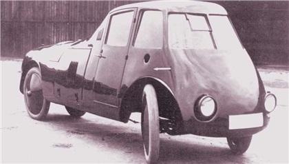 Persu Streamliner (1923): В поисках идеальной аэродинамики