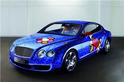 Bentley Continental GT Art Car by Romero Britto (2009): Поп-арт