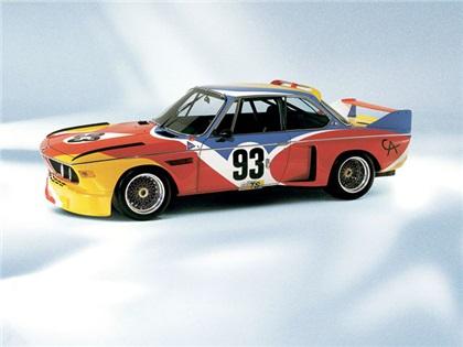 BMW 3.0 CSL Art Car # 1 (1975): Alexander Calder