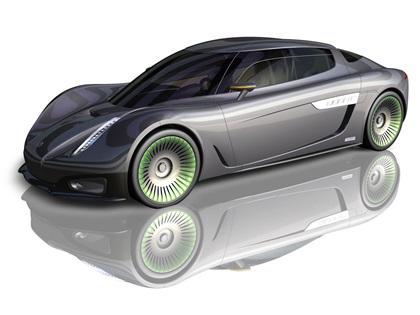 Koenigsegg Quant Concept (2009): Электрический суперкар