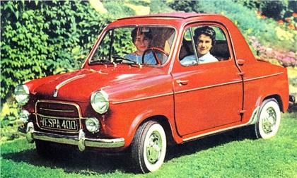 Vespa 400 (1956): Не только скутеры