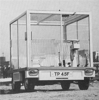 Quasar Unipower (1967-68): Куб на колесах