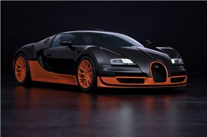 Bugatti Veyron 16.4 Super Sport (2010):  Рекорд скорости для серийных автомобилей