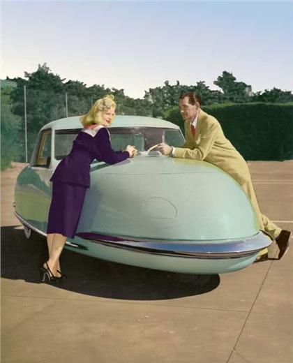 Davis Divan Sedan (1948): Диван на трех колесах