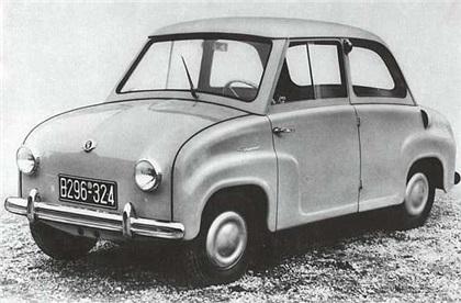 Glas Goggomobil (1955-69): Любить за название