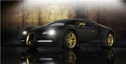 Mansory Bugatti Veyron LINEA Vincero d'Oro (2010): Эксклюзив в квадрате