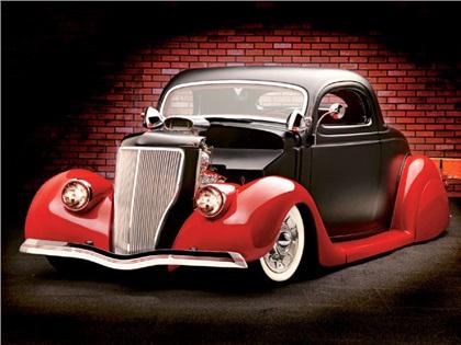 Ford Coupe '36 Hot-Rod: Он такой один