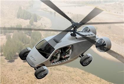 AVX Aircar (2010): Пентагон намерен закупить летающие автомобили