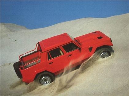 Lamborghini LM002 (1986-1993): Внедорожный «Ламбо»