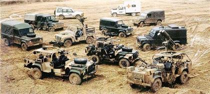 Land Rover Defender: Старый вояка