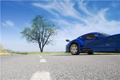Faralli & Mazzati Antas V8 GT (2006): Плавник в голубом бархате