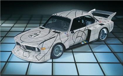 BMW 3.0 CSL Art Cart # 2 (1976): Frank Stella