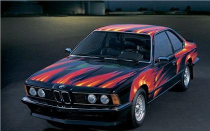 BMW 635 CSi Art Car # 5 (1982): Ernst Fuchs