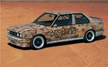 BMW M3 Group A Art Car # 7 (1989): M. J. Nelson