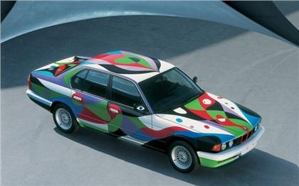 BMW 730i Art Car # 10 (1990): Cesar Manrique
