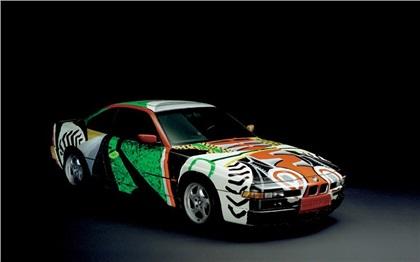 BMW 850 CSi Art Car # 14 (1995): David Hockney