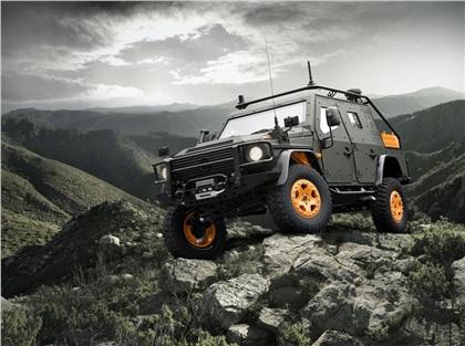 Mercedes-Benz G-Wagon LAPV 6.X Concept (2010): Новый лёгкий патрульный броневик