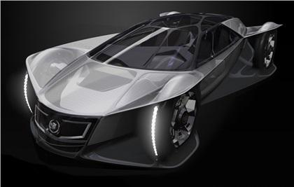 LA Design Challenge (2010): Cadillac Aera Concept