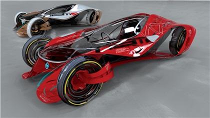 LA Design Challenge (2010): Nissan iV Concept