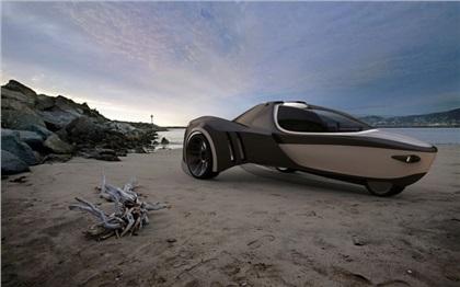 Michelin Challenge Design (2011): Manta amphibious three-wheeler concept