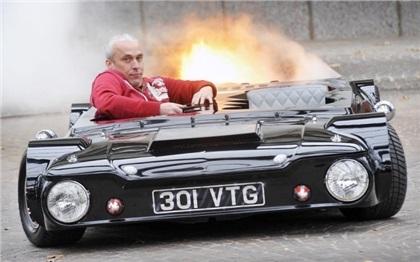 Perry Watkins' Flatmobile (2007): Самый низкий в мире автомобиль