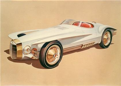 Mercer-Cobra Roadster by Virgil Exner (1965): Хозяйка медной горы