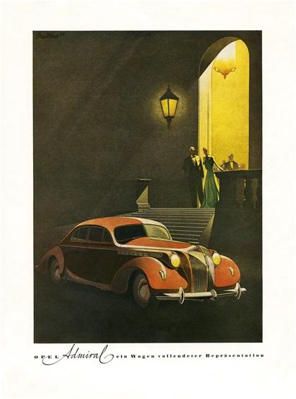 Реклама Opel: Арт-деко Бернда Рейтерса