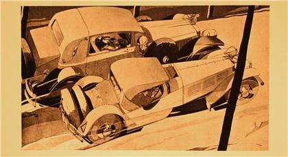Bernd Reuters (1901-1958): Арт-деко в автомобильной рекламе