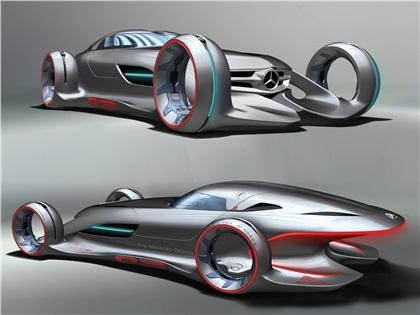 LA Design Challenge (2011): Mercedes-Benz Silver Arrow Concept