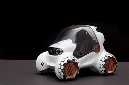 LA Design Challenge (2011): Smart 341 Parkour Concept
