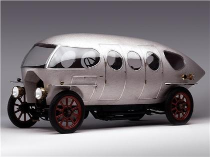 A.L.F.A 40/60 HP Aerodinamica by Castagna (1914): Siluro Ricotti