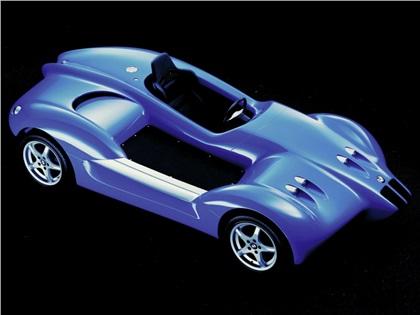 BMW Fun Car (1994): Проект мотоцикло-автомобиля