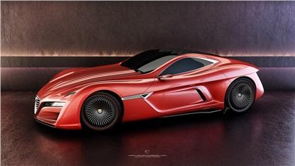 Alfa Romeo C12 GTS (2012): Ugur Sahin Design