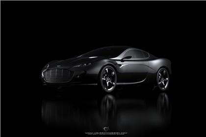 Aston Martin Gauntlet (2010): Ugur Sahin Design
