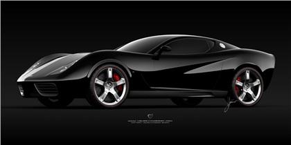 Corvette Z03 (2008): Ugur Sahin Design